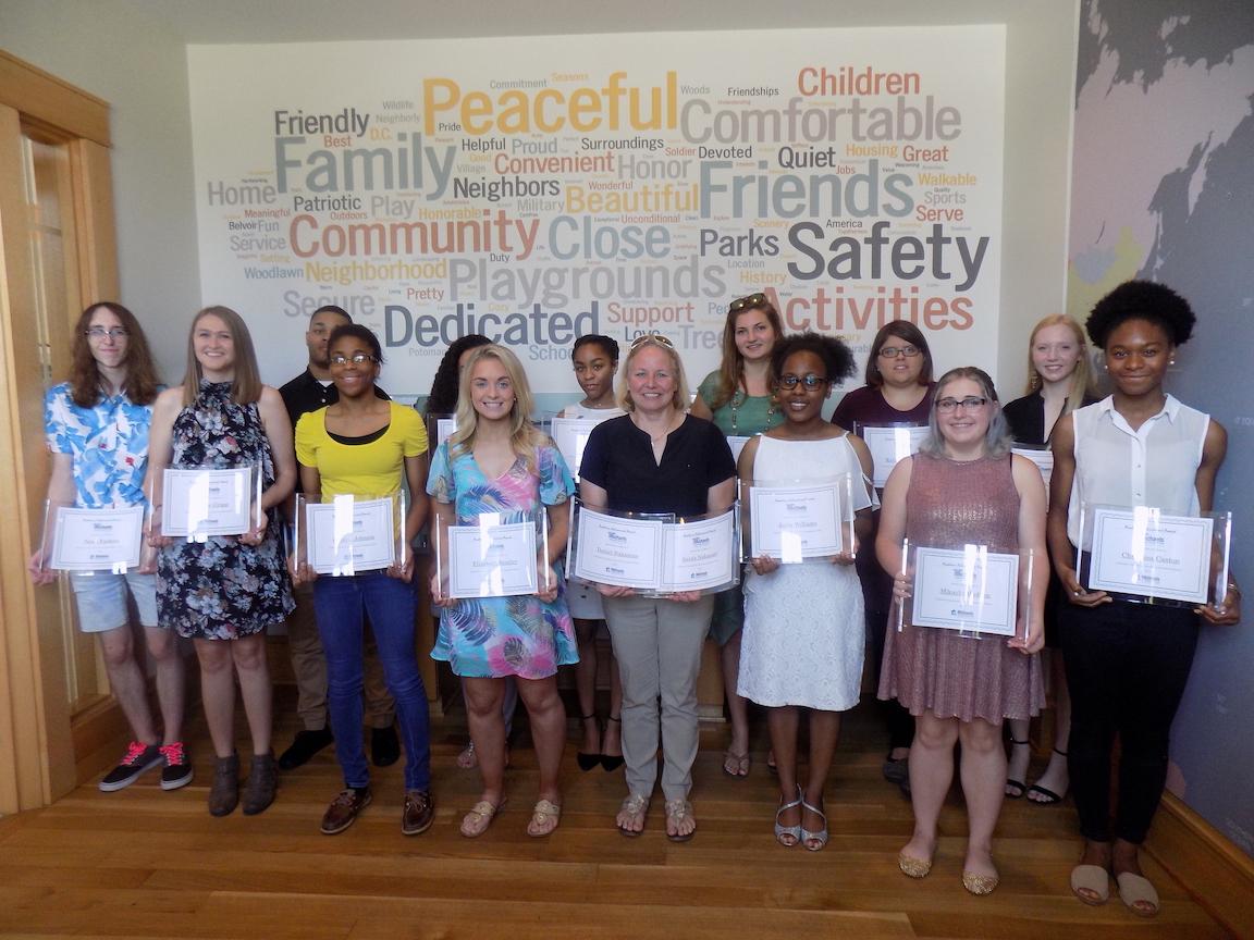 Villages at Belvoir Scholarship Recipients